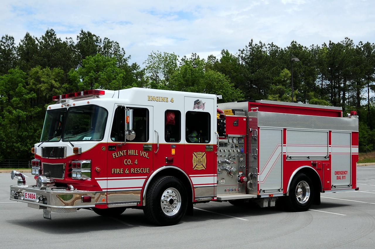 Flint Hill  Fire Co 4  Wagon  4   2006  Smeal    1500/ 1000/ 40 foam