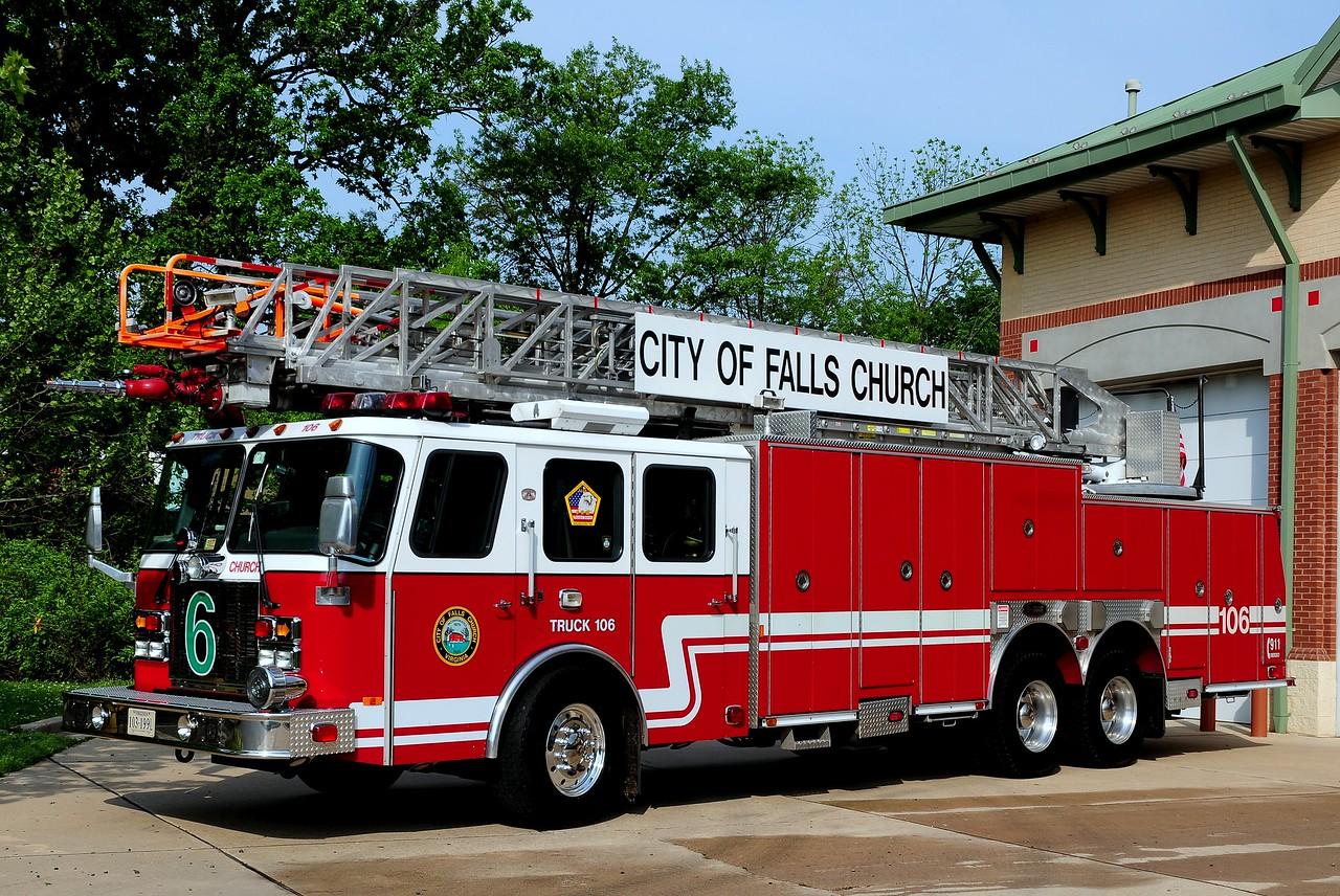 Falls  Church, Va   Truck 106   2001  Emergency-One  100ft