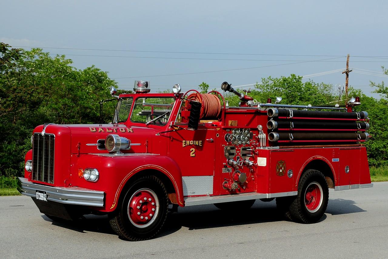 Dalton  Fire  Co   Engine  2  1963 MAXIM 1000/ 500