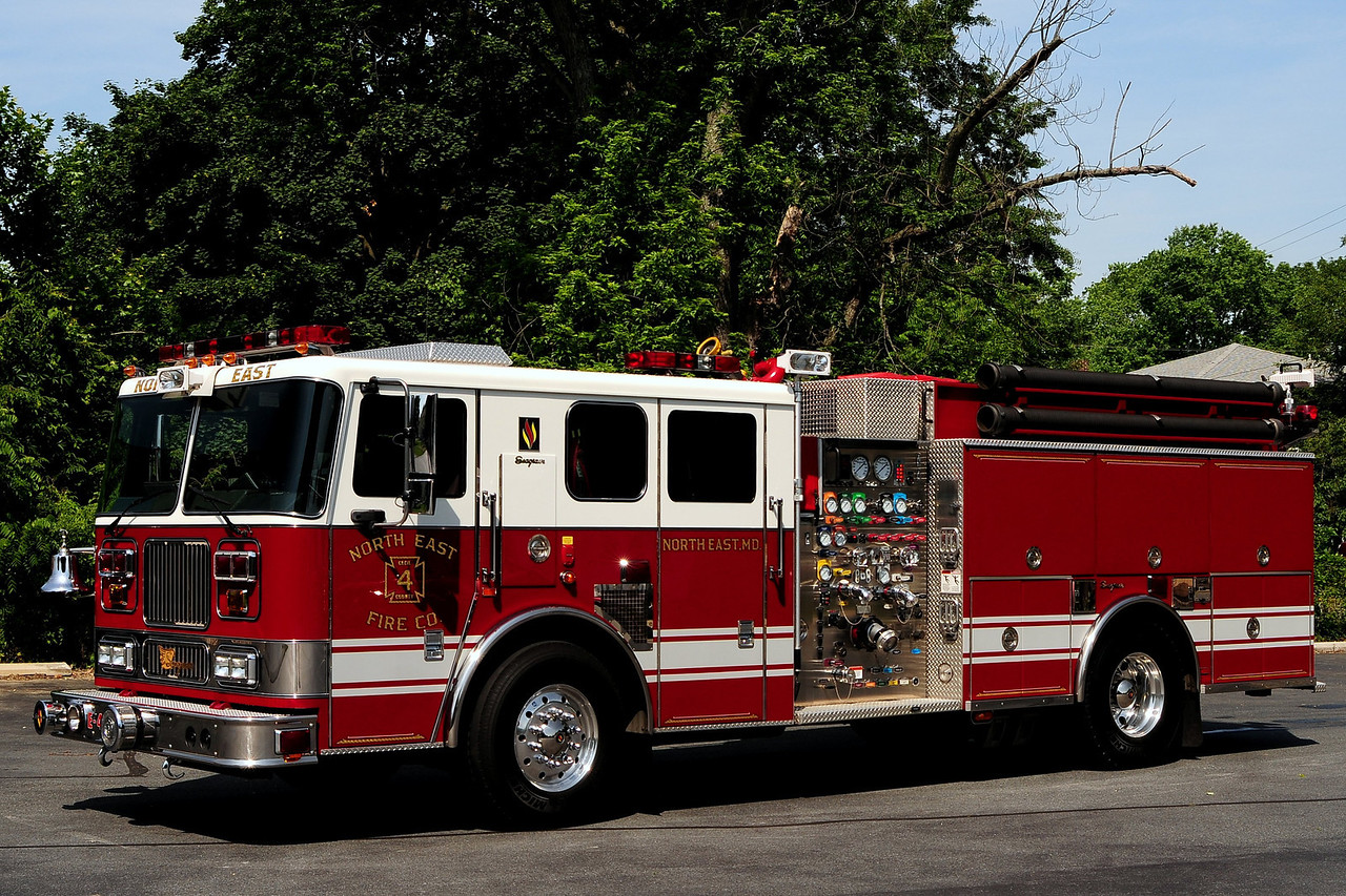 North East Fire Co  Engine 412  2008 Seagrave Marauder  2000/ 1000/ 30 Class A Foam