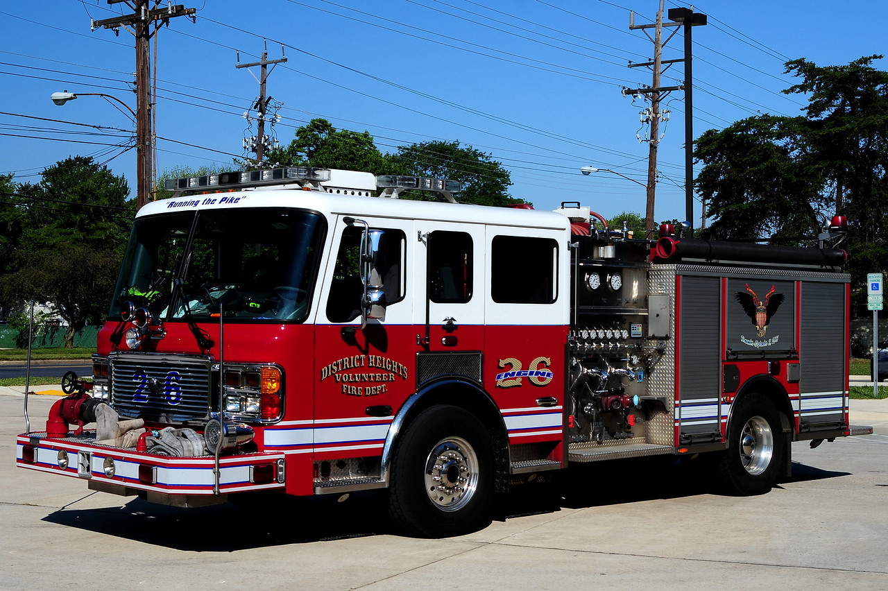 District Heights  Engine 26  2006  American La France  1500/ 500