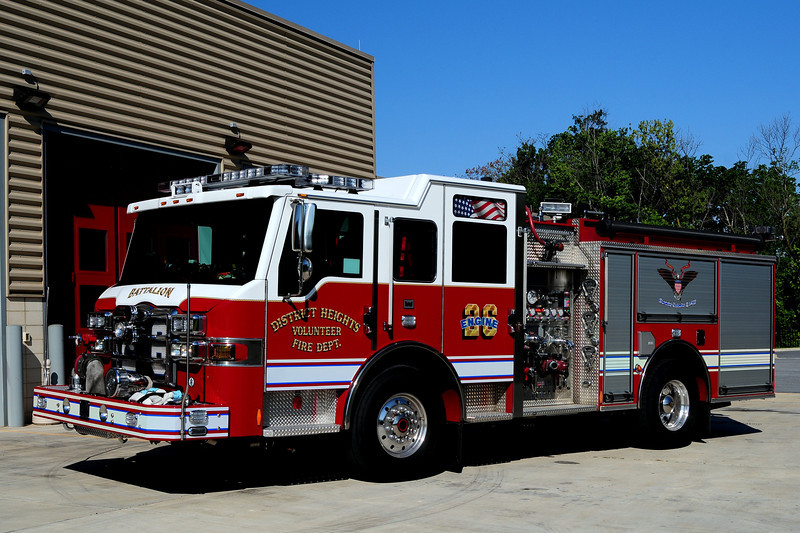 District Heights  Engine  261  2011 Pierce Velocity  1500/ 500