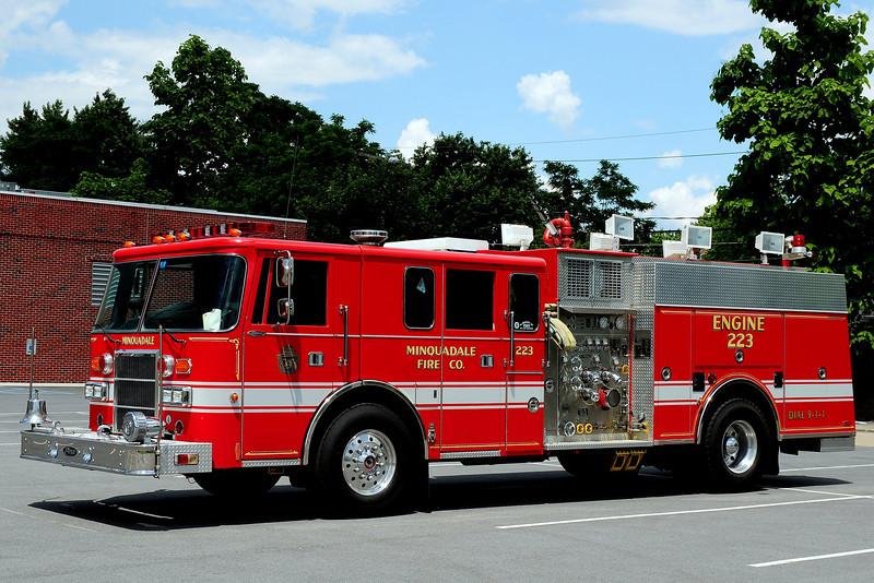 Minquadale Fire Co  Engine 223   1993  Pierce  Lance   1500/ 500