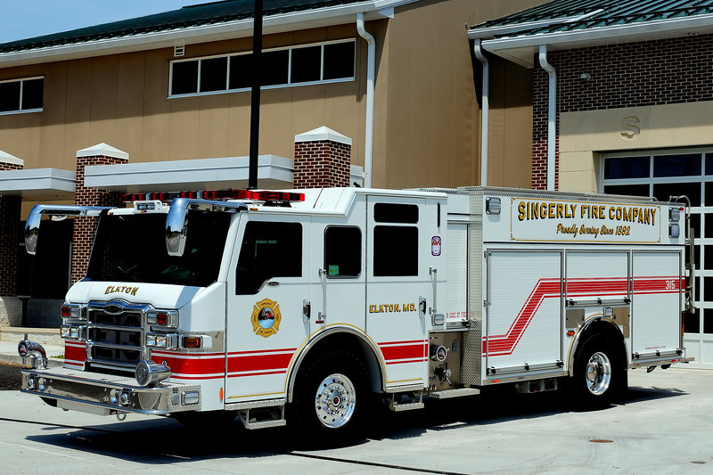 Singerly Fire Co   Engine  13  2010 Pierce Velocity PUC  1500/ 1000