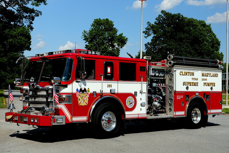 Clinton Fire Dept    Engine  251  2007  Pierce Dash   2000/ 500