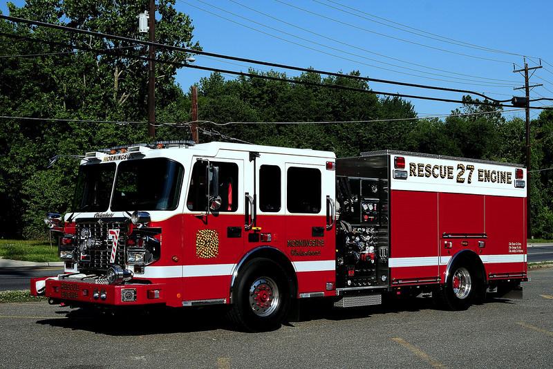 Morningside Rescue Engine 27 2012 Spartain/ Custom Fire 1250/ 500