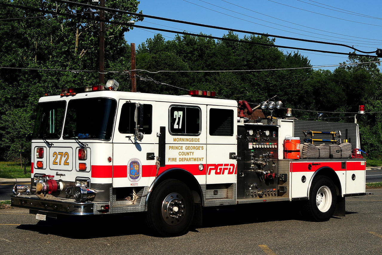 Prince George's  County   Engine  272  1990 Seagrave  1250/ 500