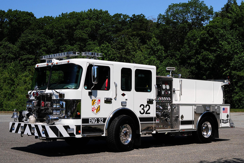 Allentown Rd  Engine 32  2011  Spartan/ Crimson  1500/ 500