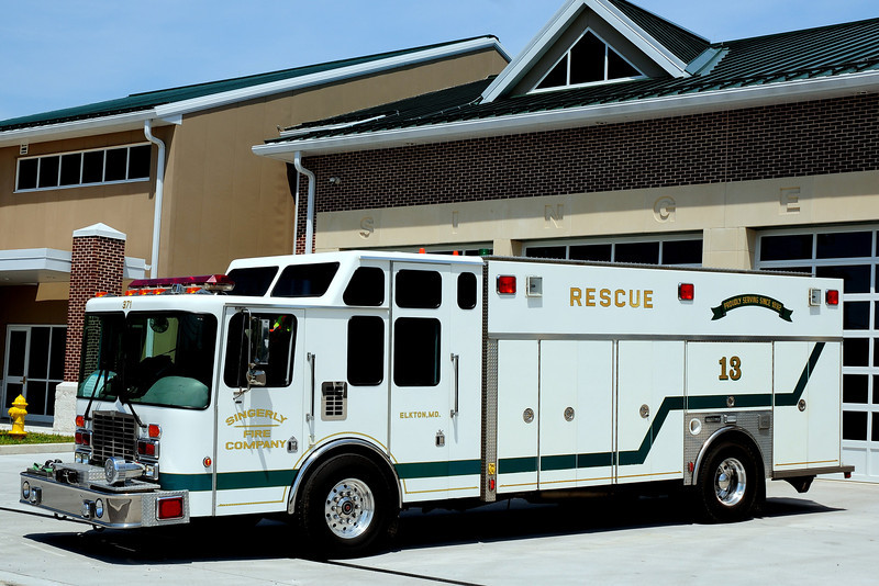 Singerly Fire Co  Rescue  13   1995  HME/Saulsbury