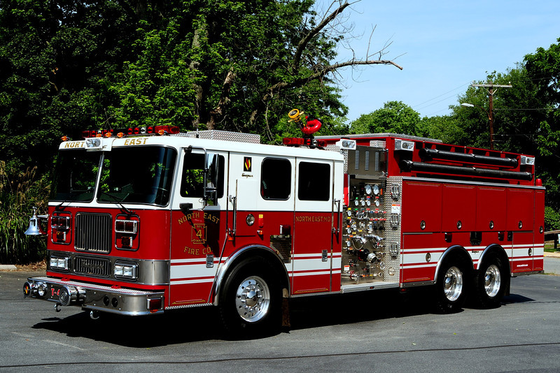 North East Fire Co   Tanker 4   2004  Seagrave Marauder  2000/ 2500 / 60 Class A Foam