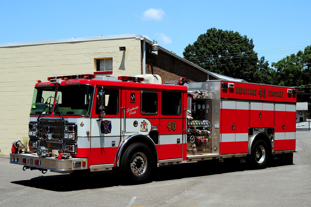Brandywine  Rescue Engine  40  2007 Seagrave  1500/ 500/ 20 Class A