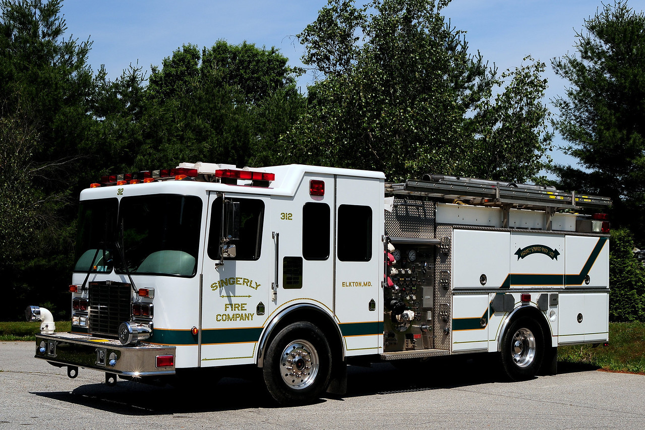 Singerly Fire Co  Engine   312   2000 HME/ M&W  1500/ 1000