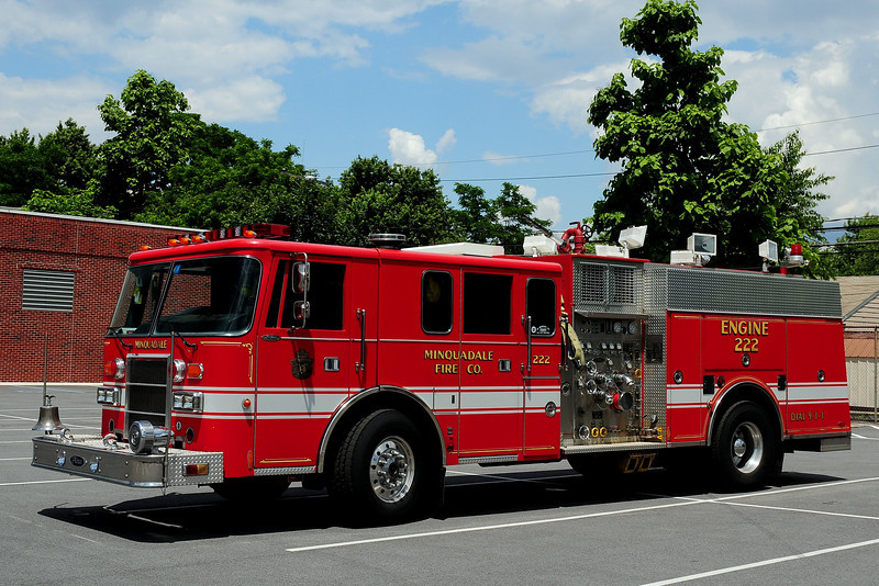 Minquadale Fire Co  Engine  222   1993  Pierce  Lance  1500/ 500