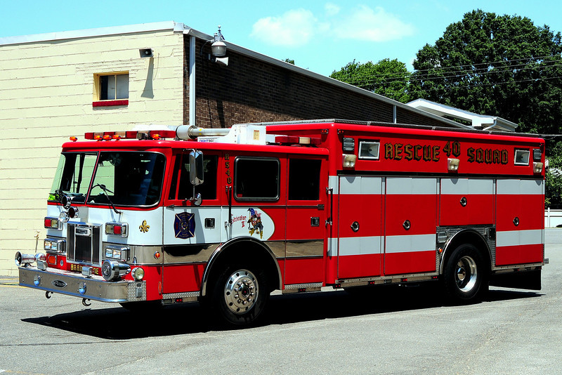 Brandywine   Fire Dept  Squad  40  1993  Pierce  Arrow