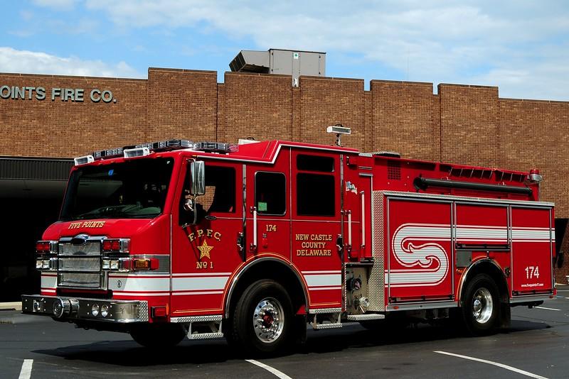 Fire Points Fire Co    Engine   174  2009 Pierce  Velocity  1500/ 500