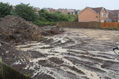 Source of the problem - a former farm site which has been cleared