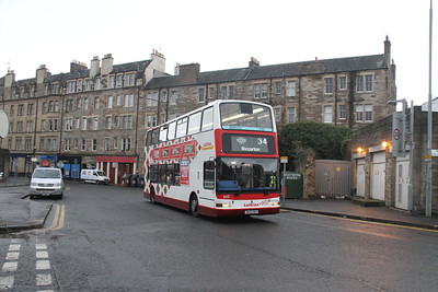 640 passes Tollcross Fire Station on Ponton Road.  Just got away with this - set at 1/160 was a mistake.
