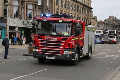 McDonald Road 502 in hot pursuit