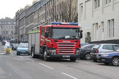 SN06FYG Scania P270 on Annandale Street
