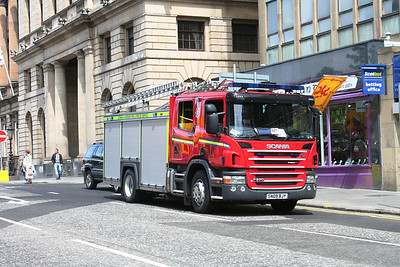 SN09BJY Scania P270 at South St Andrew Street