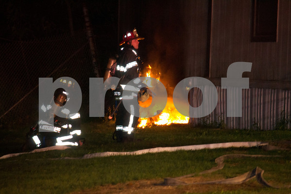 Farmingdale FD Office Trailer Fire 99 Quacker Meeting House Rd 9-19-12