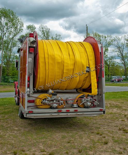 Brooklyn Mortlake Tanker rear view
