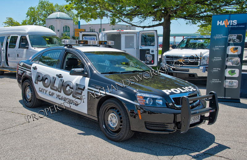 City of Yonkers Police Car 888
