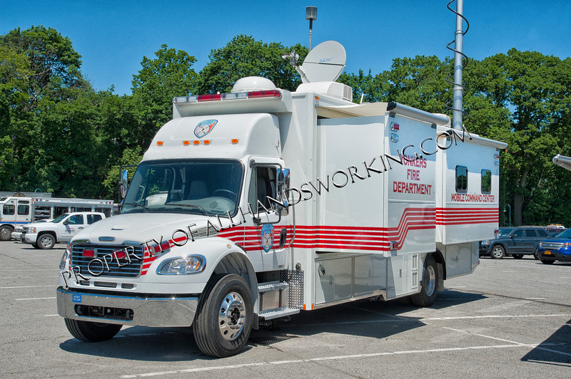 Yonkers Fire Mobile Command Center