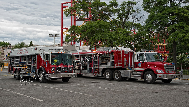 Yonkers FD Collapse Rescue and USAR Truck