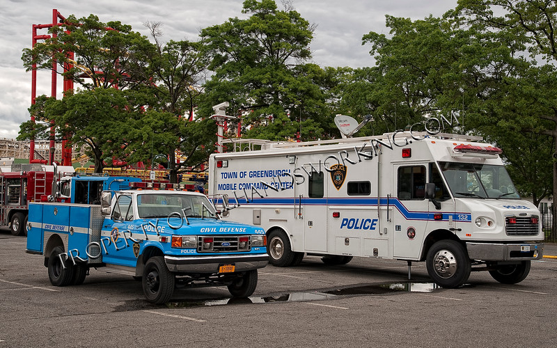 Town of Greenburgh Mobile Command Post and Civil Defense Unit