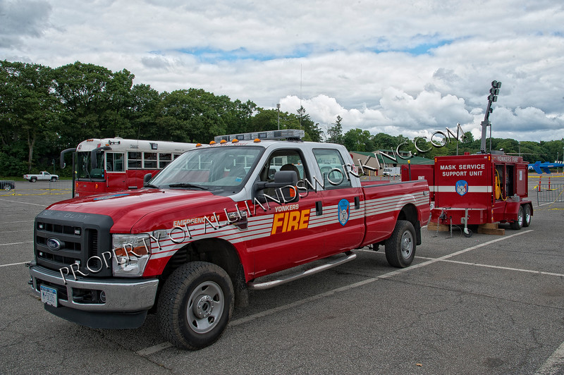 Yonkers Utility Truck and Compressor Unit