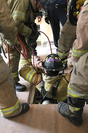 McHenry Co College Fire Science  RIT Training May 7 2016