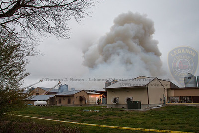 Fire at Kofkoff Egg Farm, Lebanon, Connecticut