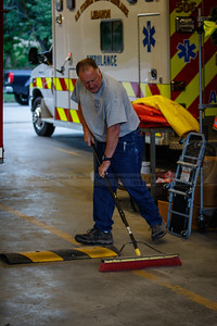 Lebanon Volunteer Fire Department work day