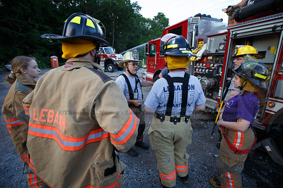 Lebanon Volunteer Fire Department Training