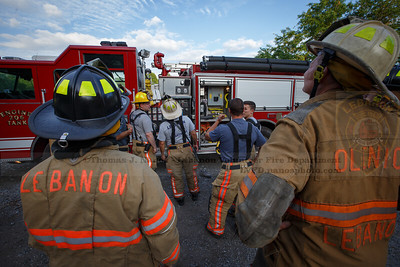 Lebanon Volunteer Fire Department Training