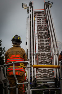 LVFD Aerial Operations Training - Lyman Memorial HS