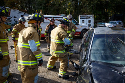 Lebanon Volunteer Fire Department & Franklin Volunteer Fire Department Hurst EDraulic Tool Training