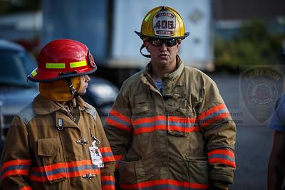 Lebanon Volunteer Fire Department & Franklin Volunteer Fire Department Hurst EDraulic Tool Training