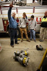 Lebanon Volunteer Fire Department Hoses/Appliances/Deck Gun training