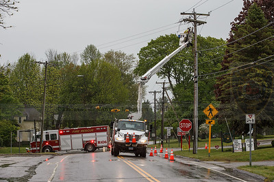 Eversource beginning repairs as Rescue 106 directs traffic