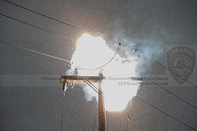 Arcing on the top of the pole