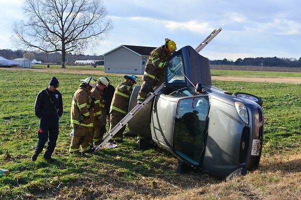 1-1-2018 Accident w/ Rollover - Federalsburg Md