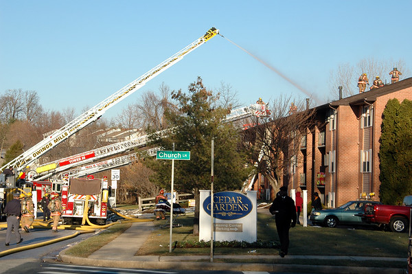 12-19-2005 Building Fire - Randallstown Md