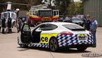NSW Police Porsche PR Car