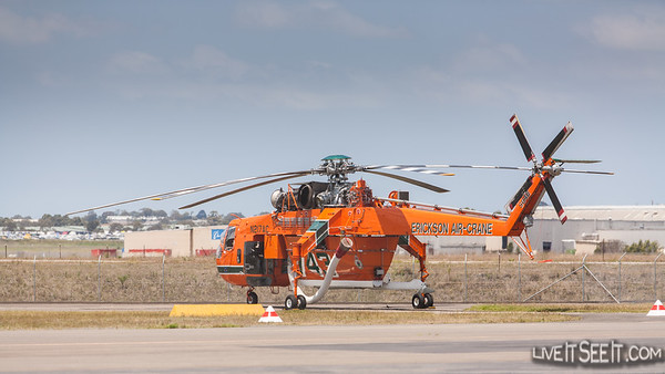 Helitac 743 'Malcolm' Ericson Air-Crane in NSW for the 2012/13 Bushfire season with NSW Rural Fire Service