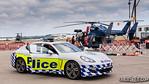 NSW Police Porsche PR Car Porsche PR car with NSW Police at the Air Wing Open Day, November 2012
