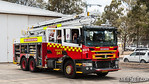 FRNSW AP47 Revesby Fire & Rescue NSW Aerial Pumper from 47 Revesby station on display at NSW Police Air Wing Open Day, November 2012