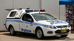 NSW Police Dog Vehicle NSW Police Dog Squad vehicle on display at Police Air Wing Open Day, November 2012