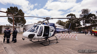 NSW Polair 3 - Airwing Open Day 2012 Polair 23 or more commonly known as Polair 3, on display at thier Bankstown Airport Base during their 2012 Open Day  November 2012